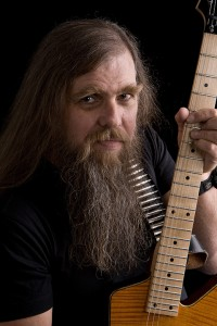 Mike Cochrane Promo Guitar Shot