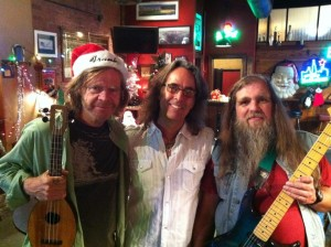 William H. Macy, Michael C. Mason, and Mike Cochrane after the video Shoot.