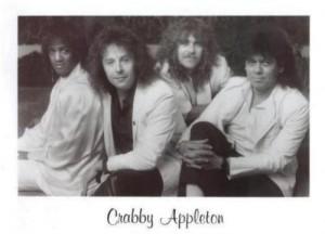Crabby Appleton (Left to Right) Roger Koko Powell, Michael Fennelly, Mike Cochranel, Faldo
