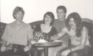 "Exhibit ""A"" (Left to Right) Neil Verity, Eva Oliphant, Jay Oliphant, Mike Cochrane"